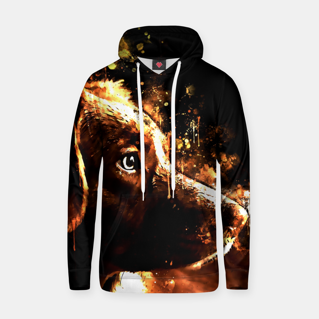 Image of retriever dog ws std Hoodie - Live Heroes