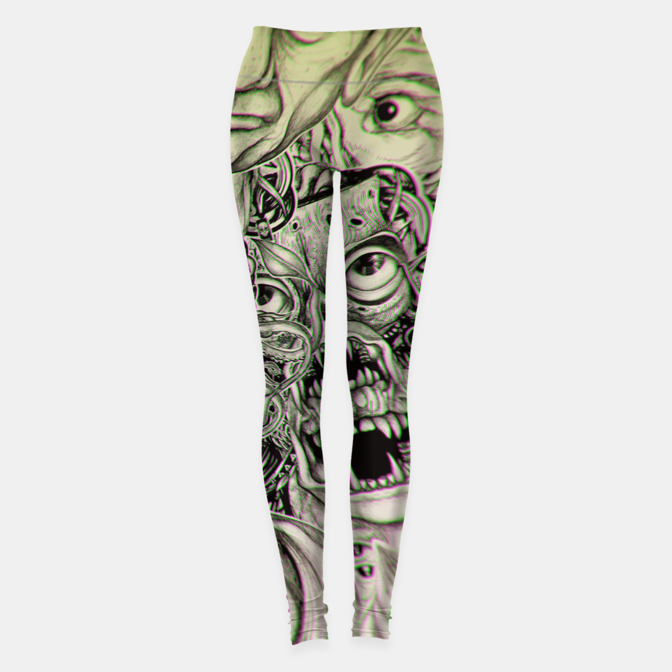 Foto Gheisha Mix Leggings - Live Heroes