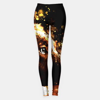 retriever dog ws std Leggings thumbnail image