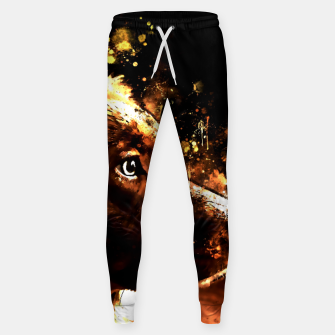 Thumbnail image of retriever dog ws std Sweatpants, Live Heroes