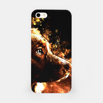 retriever dog ws std iPhone Case thumbnail image