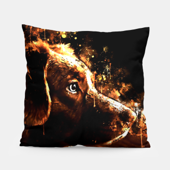 retriever dog ws std Pillow thumbnail image