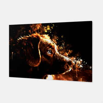 retriever dog ws std Canvas thumbnail image