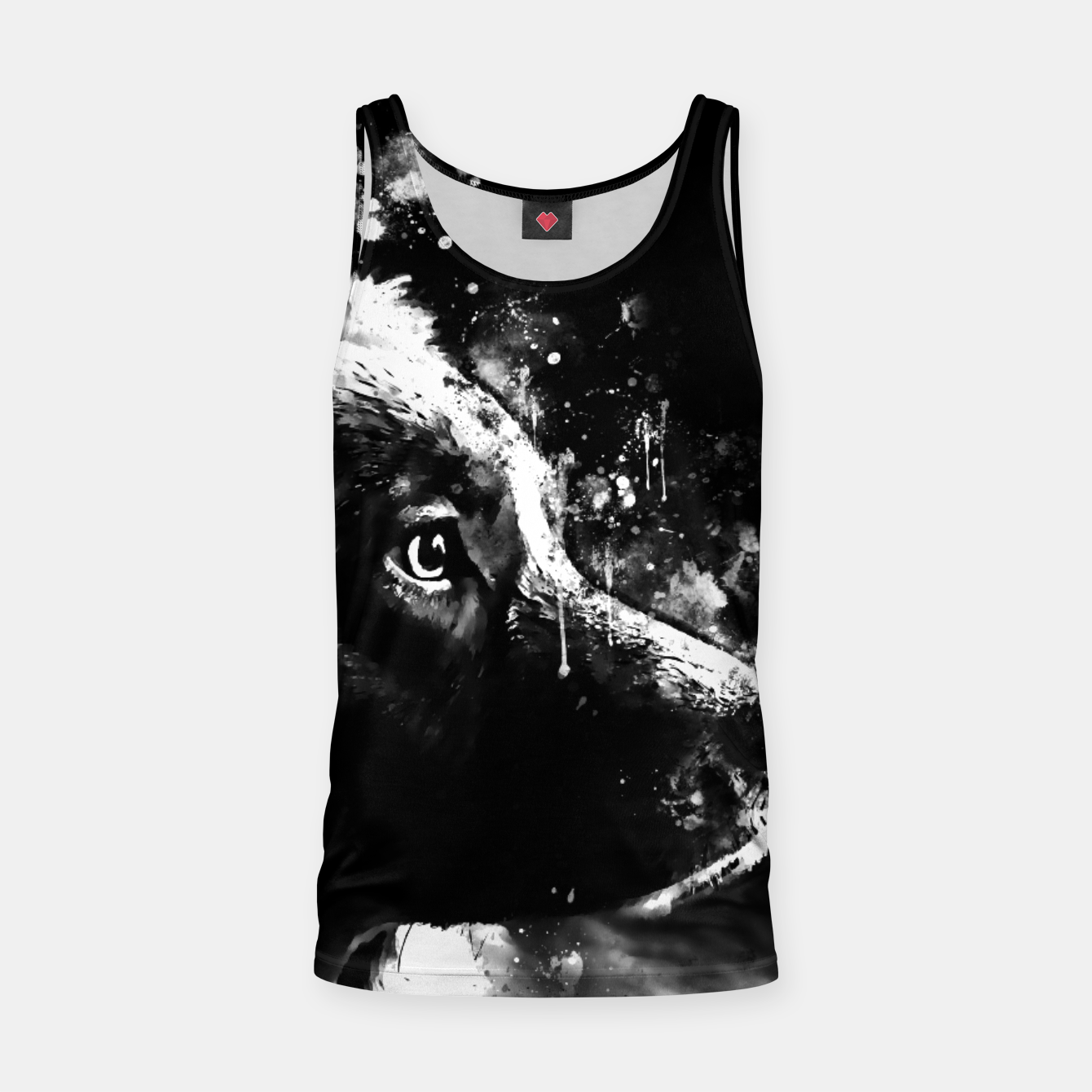 Image of retriever dog ws bw Tank Top - Live Heroes