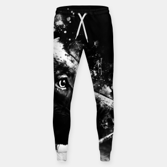 retriever dog ws bw Sweatpants thumbnail image