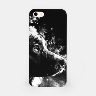 retriever dog ws bw iPhone Case thumbnail image