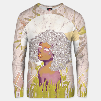 Thumbnail image of Marble Girl Unisex sweater, Live Heroes