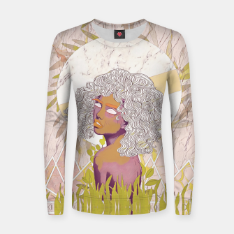 Thumbnail image of Marble Girl Women sweater, Live Heroes