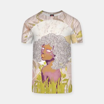 Thumbnail image of Marble Girl T-shirt, Live Heroes