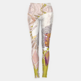 Thumbnail image of Marble Girl Leggings, Live Heroes