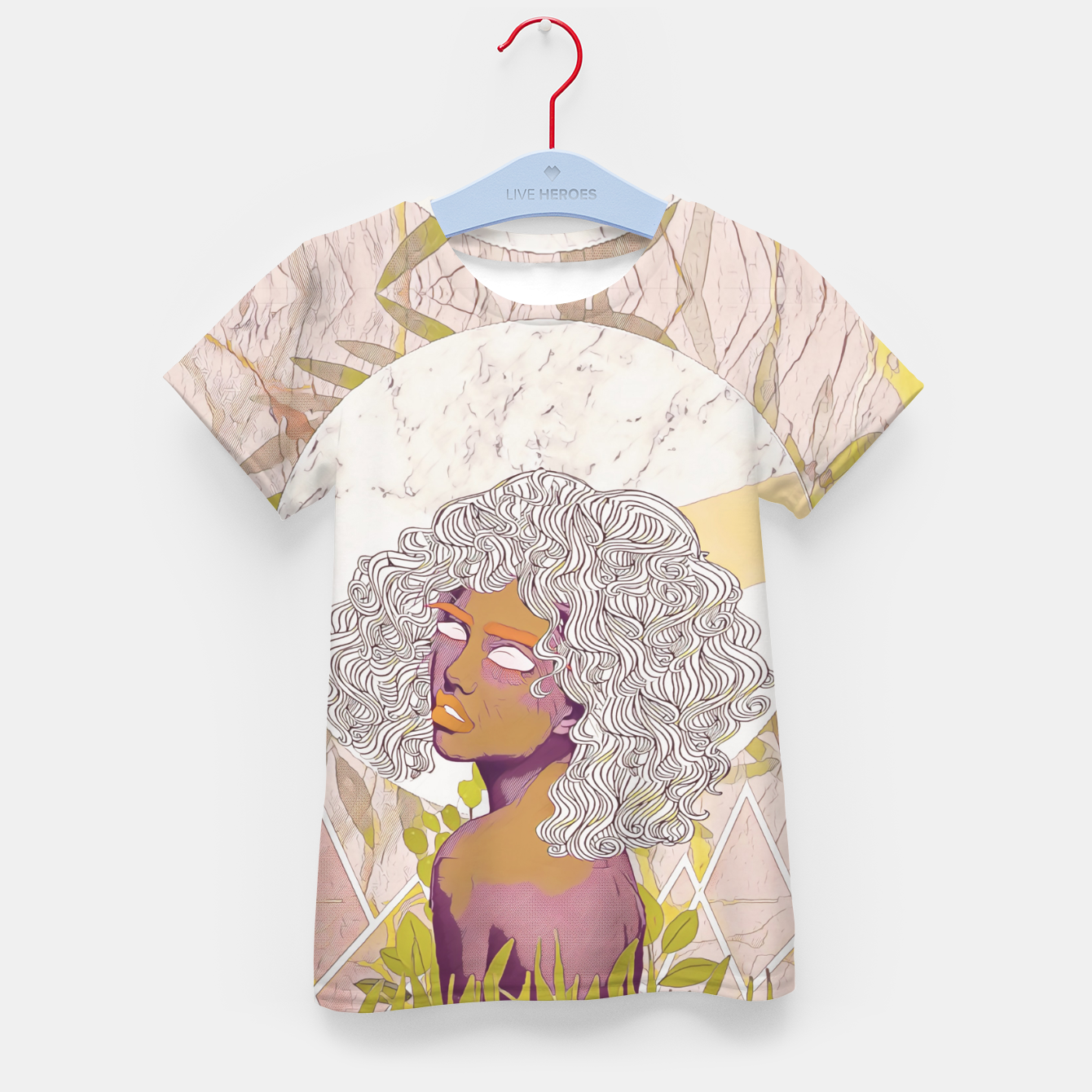 Image of Marble Girl Kid's t-shirt - Live Heroes