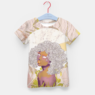 Thumbnail image of Marble Girl Kid's t-shirt, Live Heroes