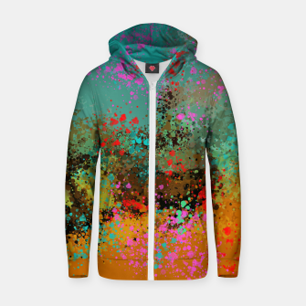 Summer day  Zip up hoodie thumbnail image