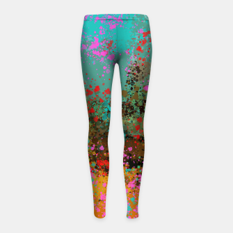 Summer day  Girl's leggings thumbnail image