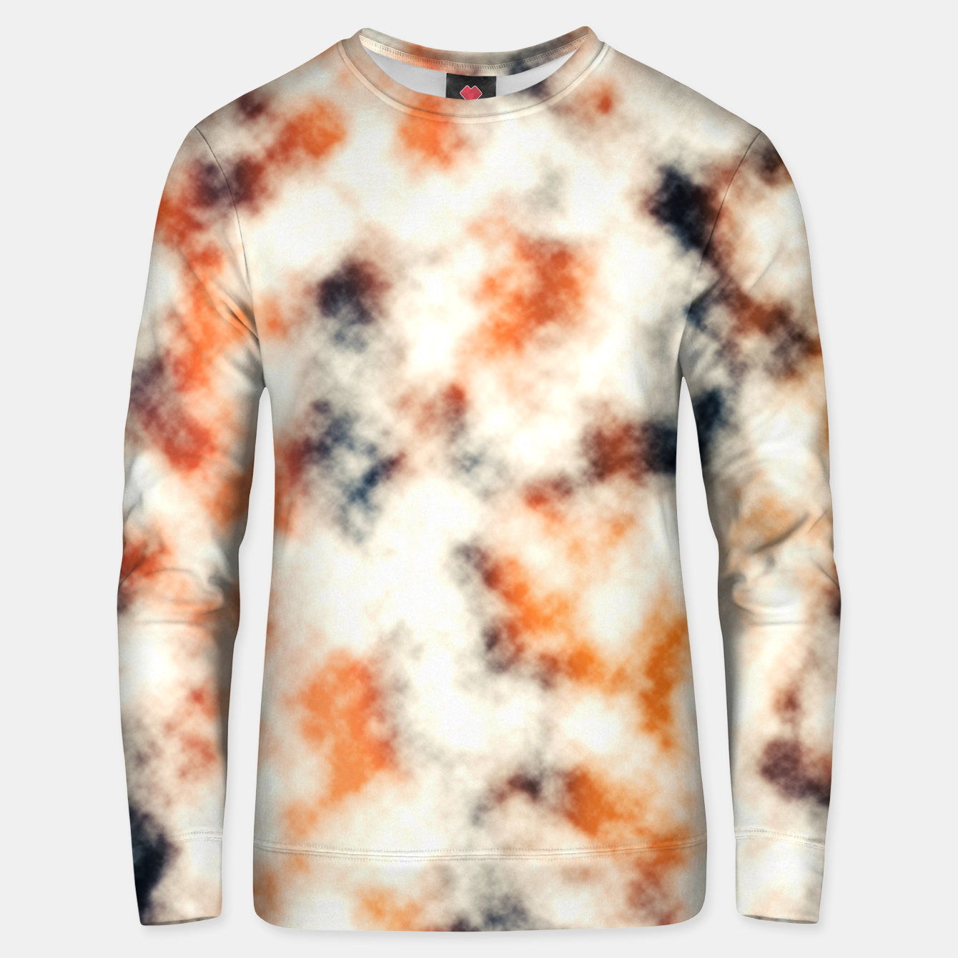 Image of Multicolored Abstract Print Unisex sweater - Live Heroes