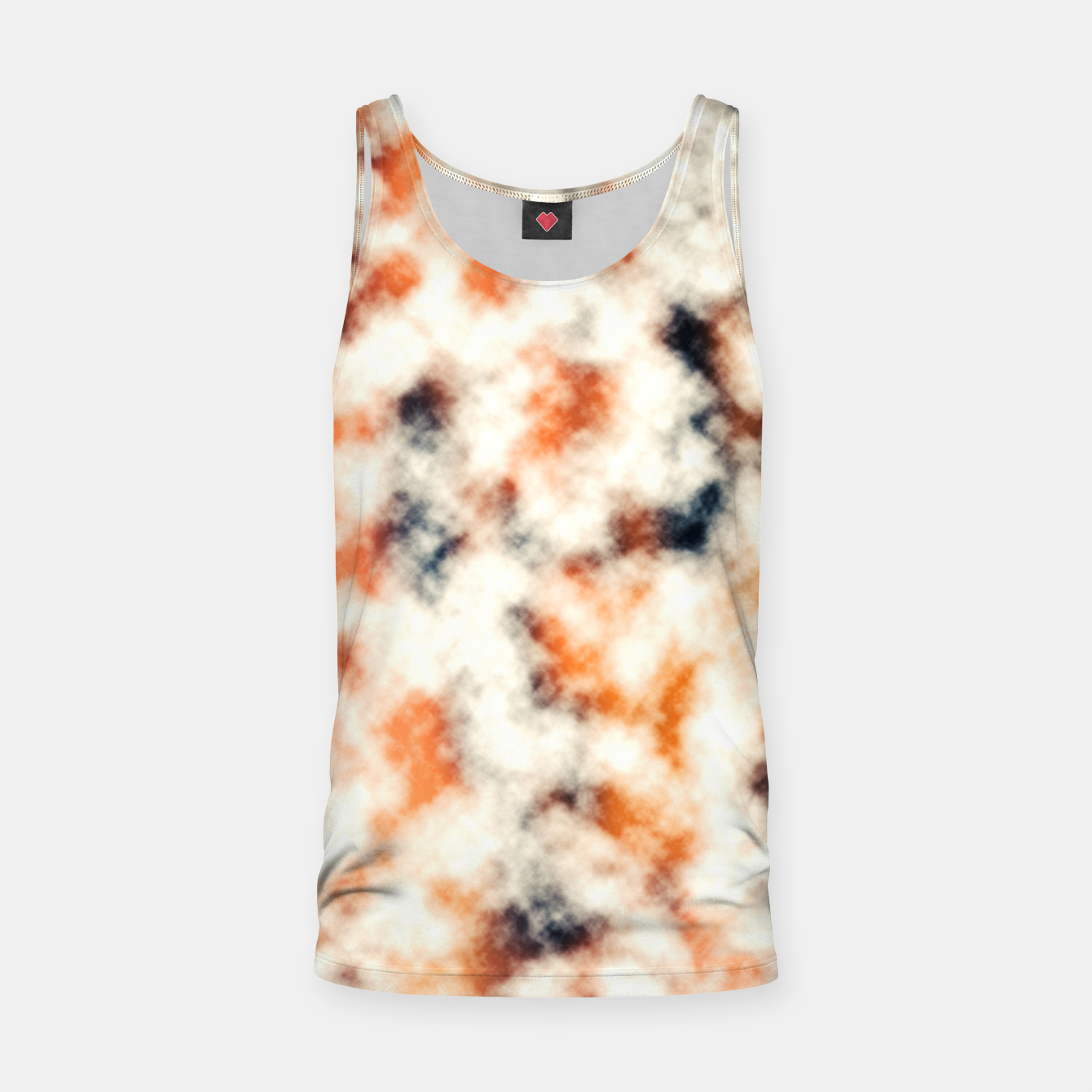 Image of Multicolored Abstract Print Tank Top - Live Heroes