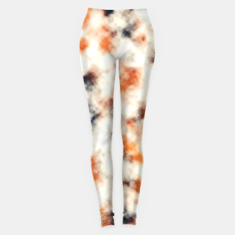 Multicolored Abstract Print Leggings thumbnail image