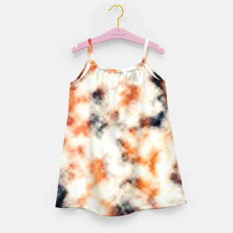 Multicolored Abstract Print Girl's dress thumbnail image
