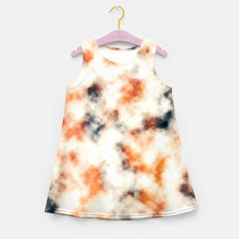 Multicolored Abstract Print Girl's summer dress thumbnail image