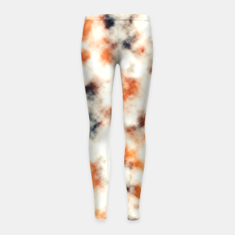 Multicolored Abstract Print Girl's leggings thumbnail image