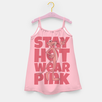 Stay Hot Girl's dress miniature