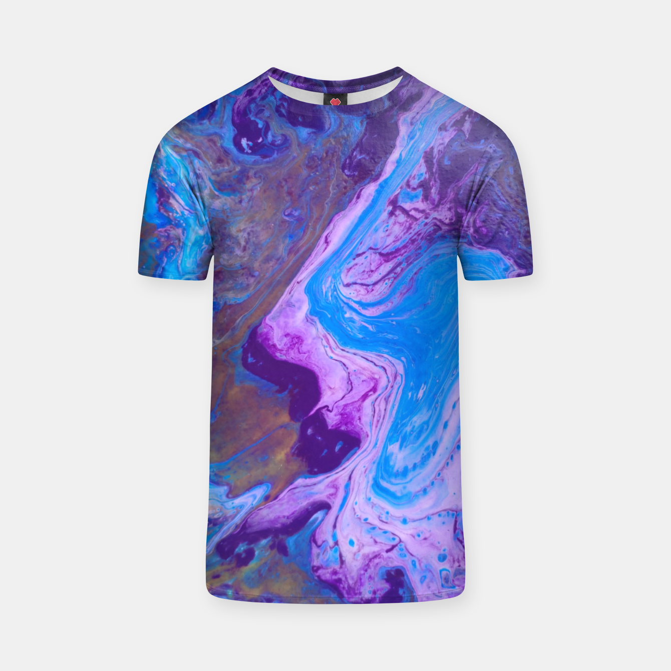 Image of azul1 T-shirt - Live Heroes