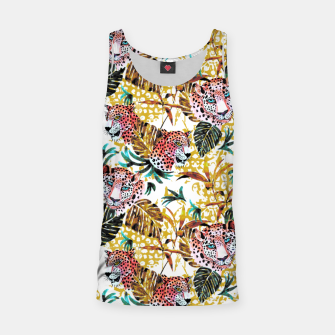 Wild animal jungle Camiseta de tirantes thumbnail image