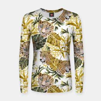 Wild animal jungle 02 Sudadera para mujeres thumbnail image