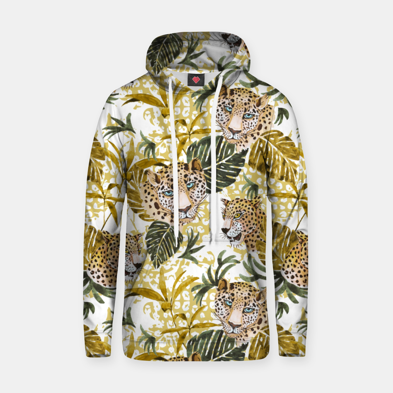 Image of Wild animal jungle 02 Sudadera con capucha - Live Heroes