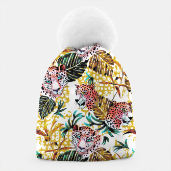 Wild animal jungle Gorro miniature
