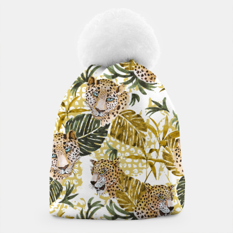 Wild animal jungle 02 Gorro thumbnail image
