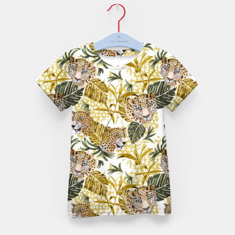Miniatur Wild animal jungle 02 Camiseta para niños, Live Heroes