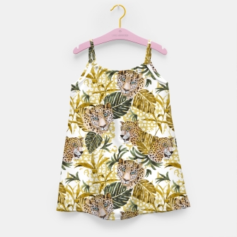 Miniatur Wild animal jungle 02 Vestido para niñas, Live Heroes