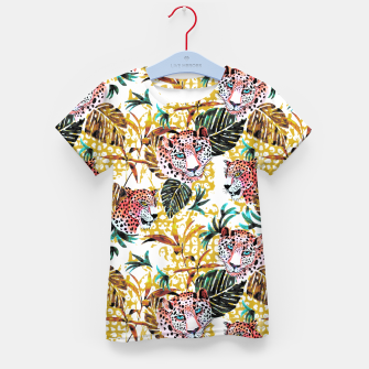 Wild animal jungle Camiseta para niños thumbnail image