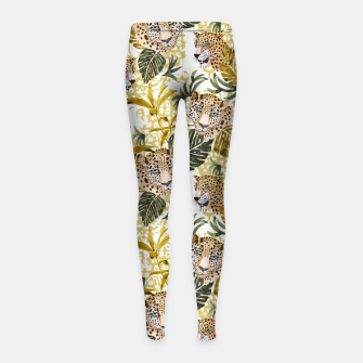 Miniatur Wild animal jungle 02 Leggings para niña, Live Heroes