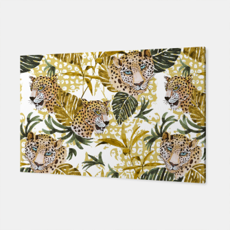 Miniatur Wild animal jungle 02 Canvas, Live Heroes
