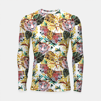 Wild animal jungle Longsleeve rashguard thumbnail image