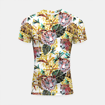 Wild animal jungle Shortsleeve rashguard thumbnail image