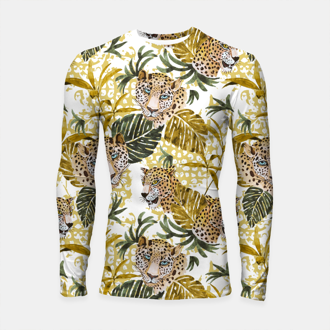 Image of Wild animal jungle 02 Longsleeve rashguard - Live Heroes