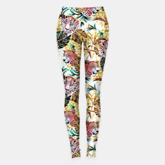 Wild animal jungle Leggings thumbnail image
