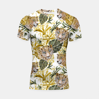 Thumbnail image of Wild animal jungle 02 Shortsleeve rashguard, Live Heroes