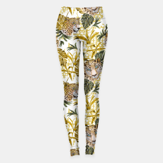 Thumbnail image of Wild animal jungle 02 Leggings, Live Heroes