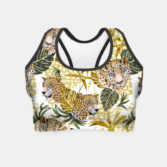 Miniatur Wild animal jungle 02 Crop Top, Live Heroes