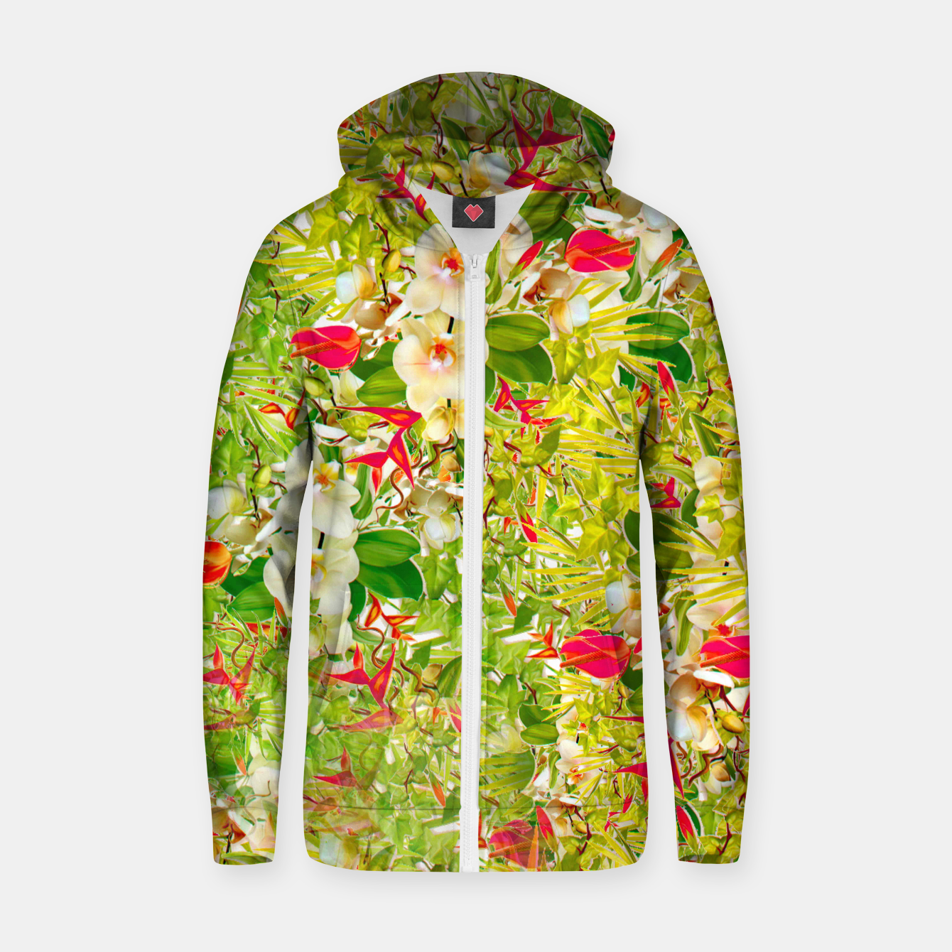 Image of Nature Flowers Hoodie - Live Heroes