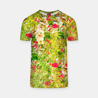 Thumbnail image of Nature Flowers Tshirt, Live Heroes