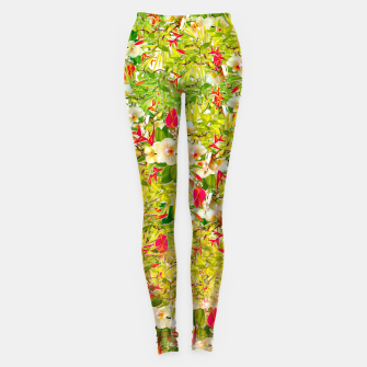 Miniaturka Nature Flowers leggings, Live Heroes