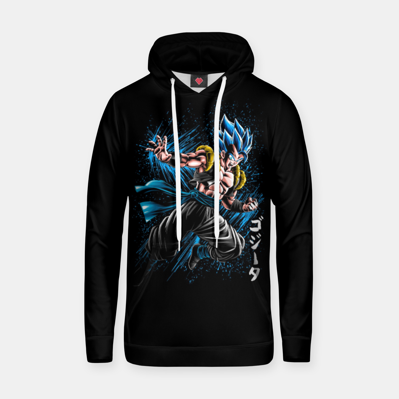 Image of fusion Ink attack Sudadera con capucha - Live Heroes