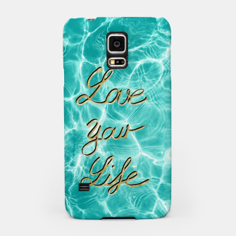 Thumbnail image of Love Your Life - Pool Dream #1 Edition #typo #decor #art Handyhülle für Samsung, Live Heroes