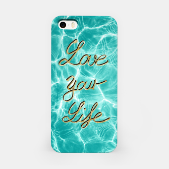 Thumbnail image of Love Your Life - Pool Dream #1 Edition #typo #decor #art iPhone-Hülle, Live Heroes