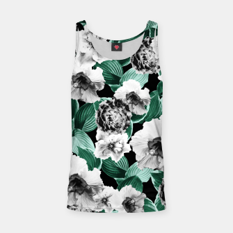 Black and White Floral Garden Glamor #3 #floral #decor #art Muskelshirt  thumbnail image